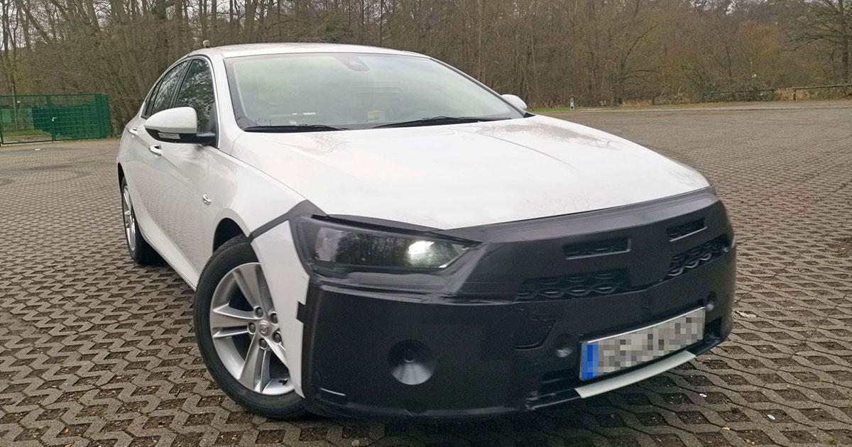 Nuovo Restyling Per La Futura Opel Insignia 2020