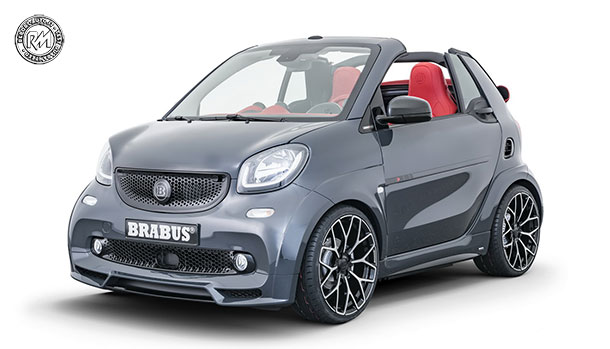 smart Brabus Ultimate E Shadow Edition