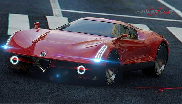 Alfa Romeo Linea Emozionante Aerodinamica