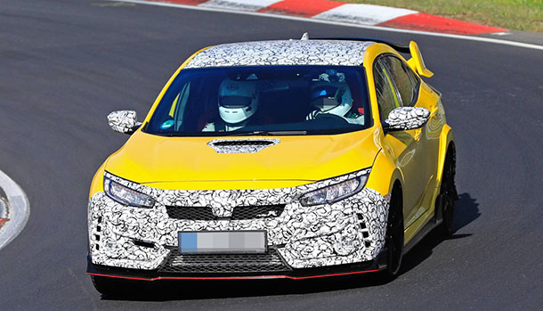 Honda Civic Type R Nurburgring Edition
