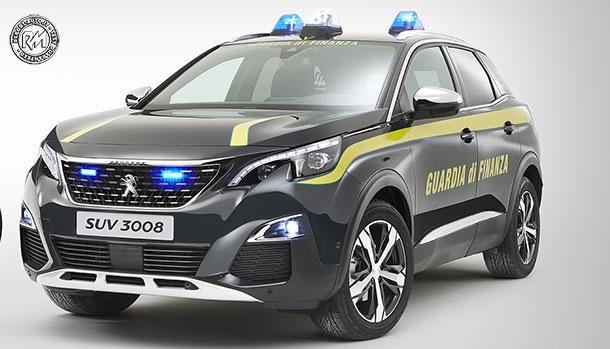 Peugeot 3008 GT Guardia di Finanza