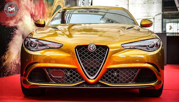 Alfa Romeo Giulia Quadrifoglio Ocra Edition