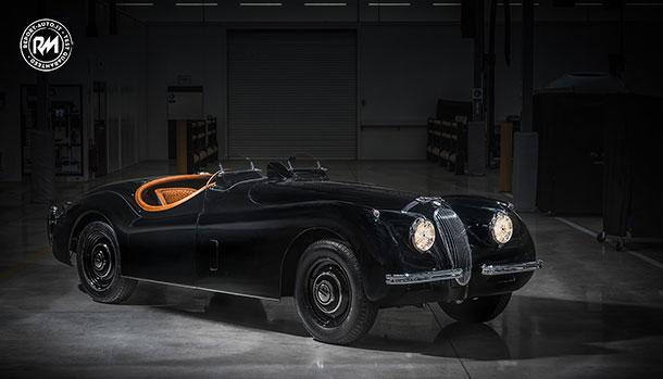 david gandy jaguar xk120