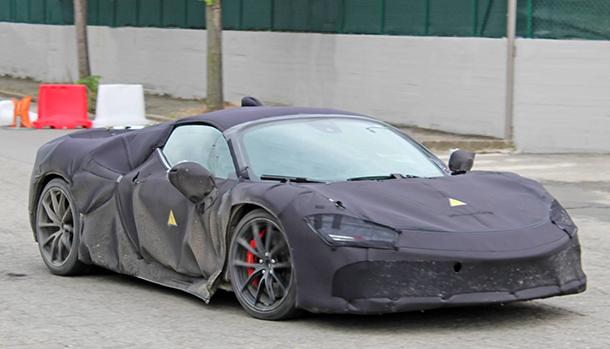 Ferrari V8 Hybrid
