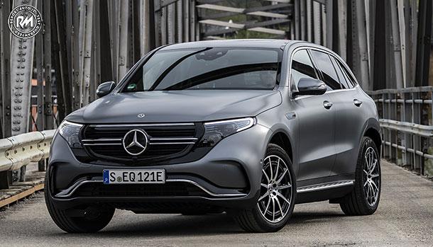 Nuova Mercedes-Benz EQC