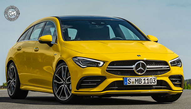 Mercedes-Benz CLA 35 Shooting Brake 2020