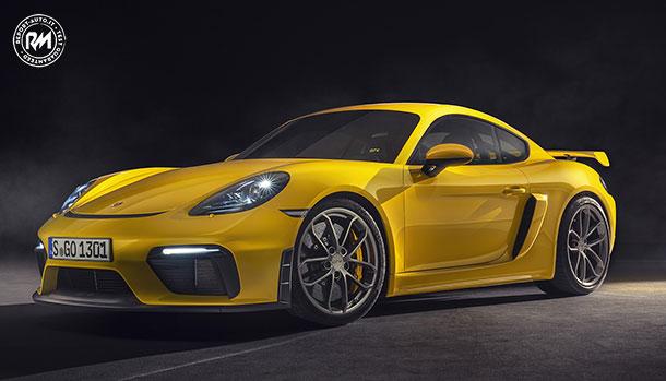 Nuova Porsche 718 Cayman GT4
