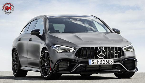 Mercedes-AMG CLA Shooting Brake 45s 4Matic+