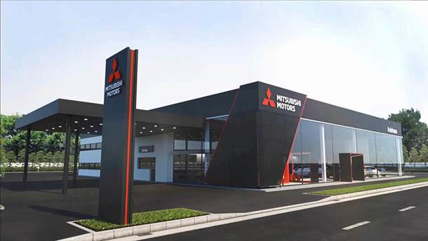 Mitsubishi _ nuova brand image concessionari