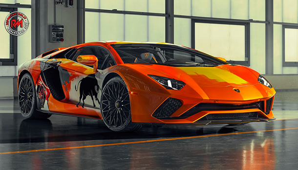 Lamborghini Aventador S by Skyler Gray