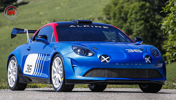 Alpine A110 Rally 2020