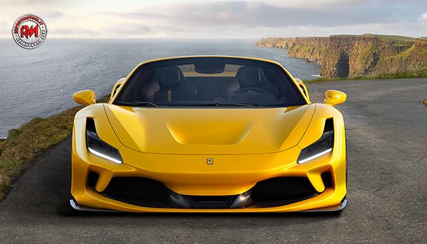 Ferrari F8 Spider la scoperta con un V8 da 720 cv!