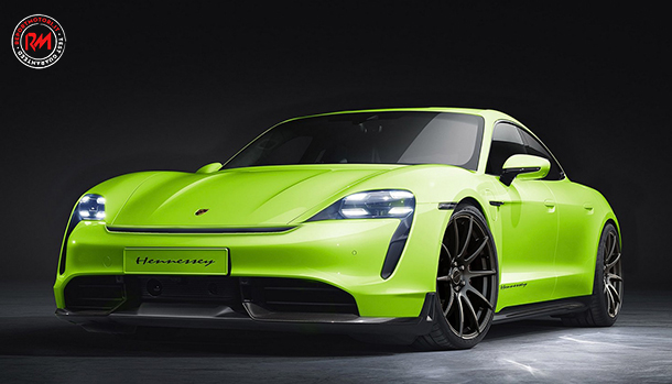 Porsche Taycan Hennessey Performance