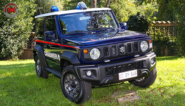 Suzuki Jimny Arma dei Carabinieri