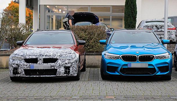 BMW M5 Model Year 2021