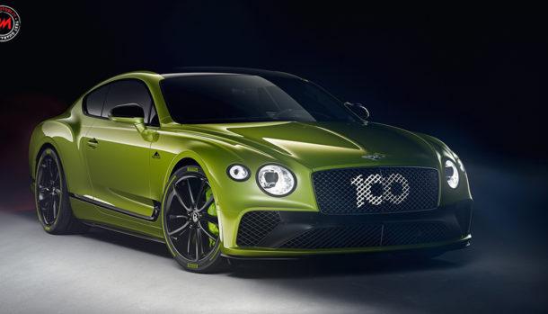 Bentley Pikes Peak Continental GT