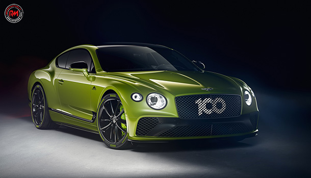 Bentley Pikes Peak Continental GT