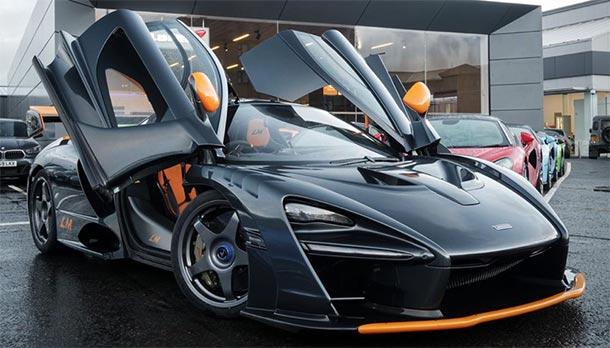 McLaren Senna Le Mans Edition