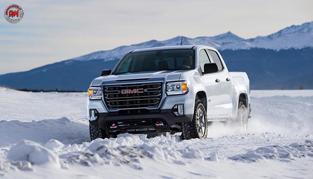 GMC Canyon Model Year 2021