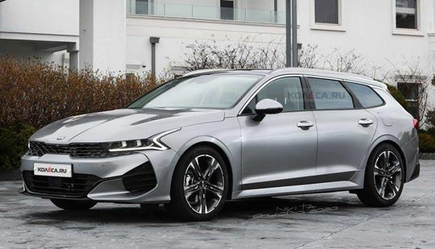 Kia Optima Sports Wagon 2021