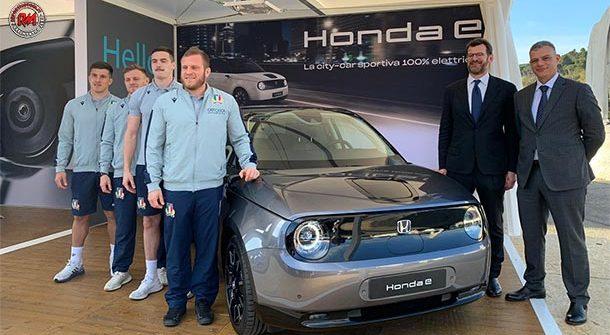 Honda protagonista con la Nazionale Italiana di Rugby