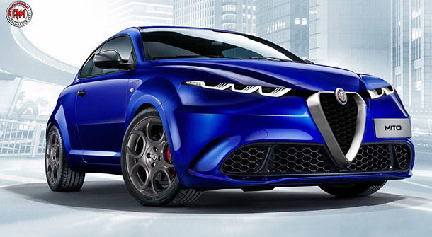 Alfa Romeo MiTo render William Silva