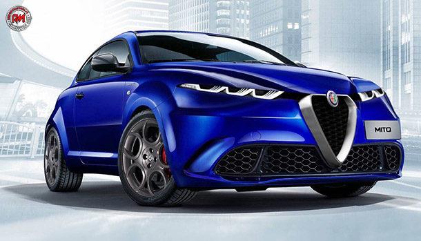 Alfa Romeo MiTo render William Silva
