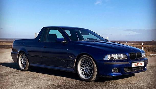BMW 530d E39 pickup