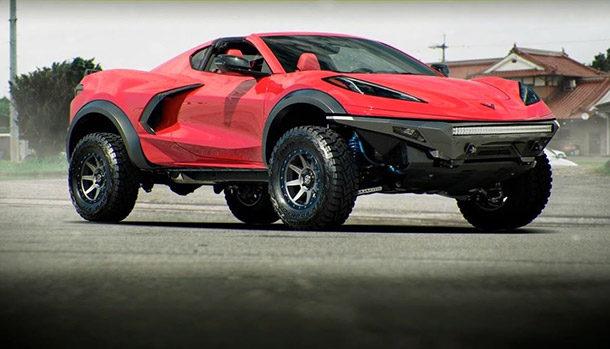 Chevrolet Corvette Offroad C8 Concept