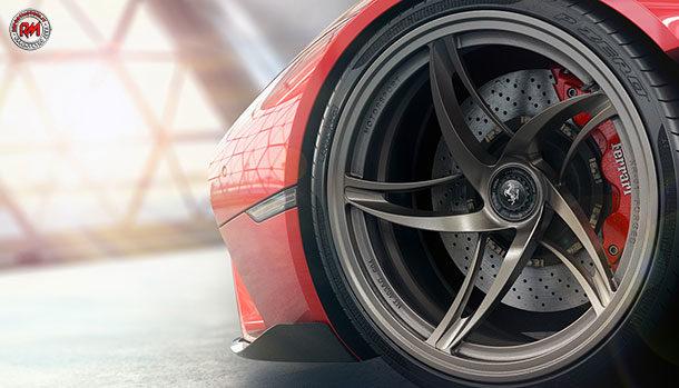 Ferrari Stallone - Freni