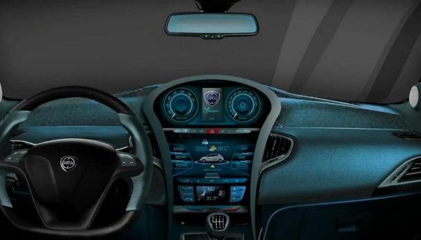 Lancia Ypsilon 2020 Rendering