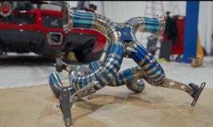 Bugatti Veyron - Scarico Titanio RYFT