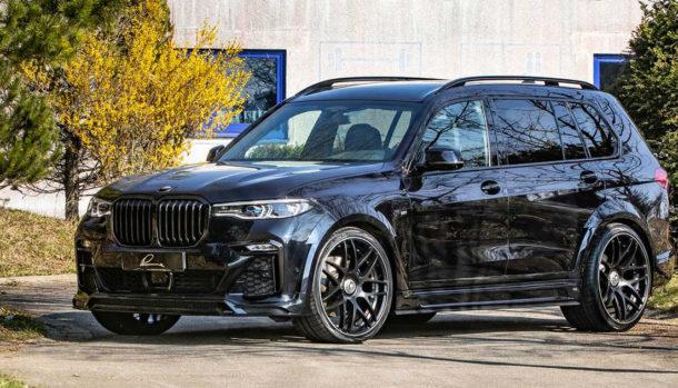 BMW X7 by Lumma Design