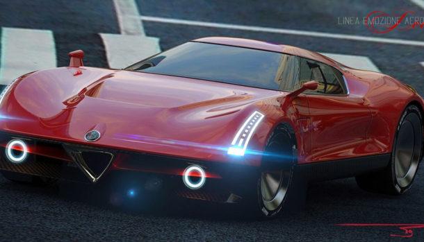 Alfa Romeo 8C LEA