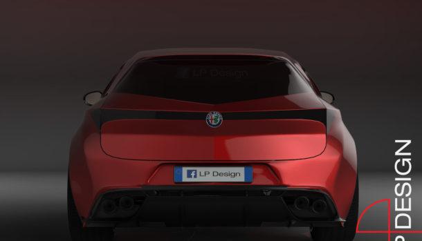 Alfa Romeo Brera LP Design