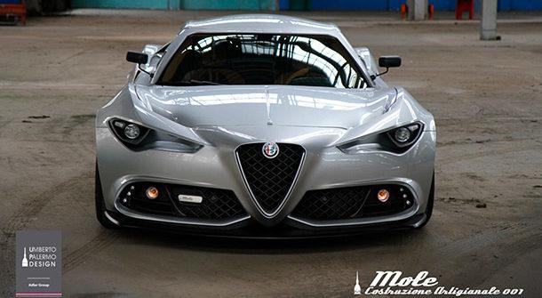 Alfa Romeo Mole Costruzione Artiginale 001