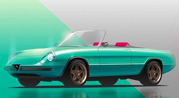 Alfa Romeo Spider Icon-e by Garage Italia Customs