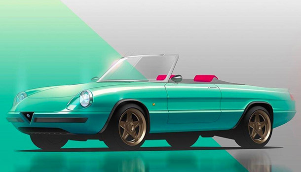 Alfa Romeo Spider Icon-e by Garage Italia Customs