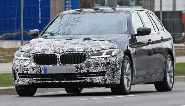 BMW Serie Touring 5 2021 - Spy