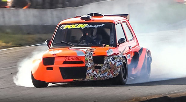 Fiat 126 Honda P2