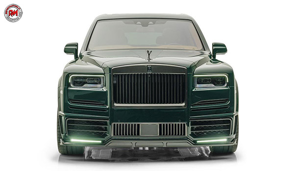Mansory Rolls-Royce Cullinan British Racing Green