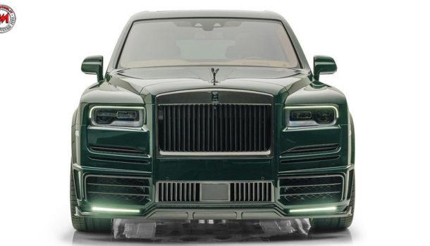 Mansory Rolls-Royce Cullinan British Racing Green