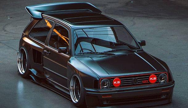 Volkswagen Golf GTI MK2