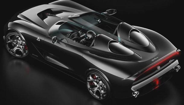 Alfa Romeo Barchetta Concept