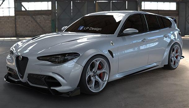Alfa Romeo Giulia GTAm Wagon