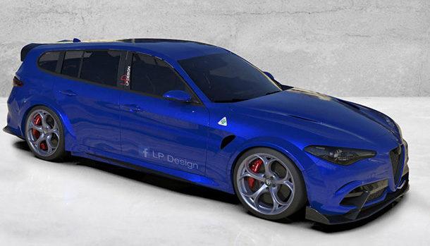 Alfa Romeo Giulia Sport Wagon GTAm Concept
