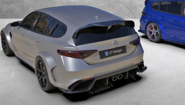 Giulia Sport Wagon GTAm Concept