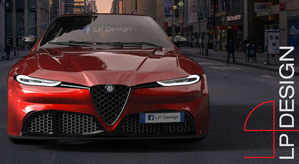 Alfa Romeo Giulietta Quadrifoglio Concept LP Design