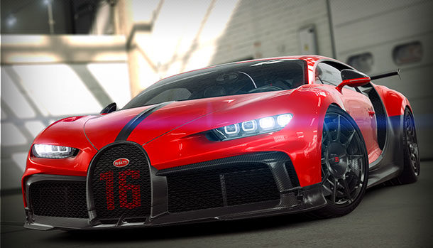 Bugatti Chiron Pur Sport - CSR Racing 2