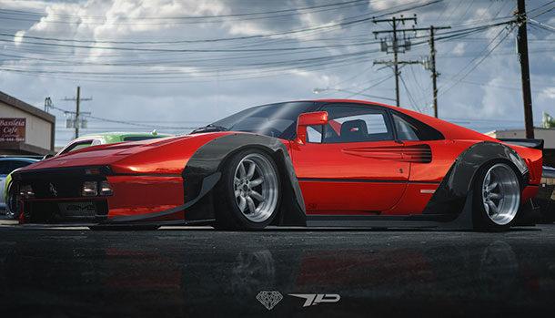 Ferrari 288 GTO Render